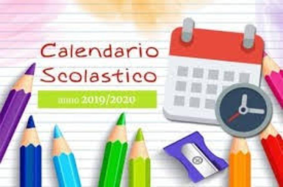 CALENDARIO SCOLASTICO  2020-21